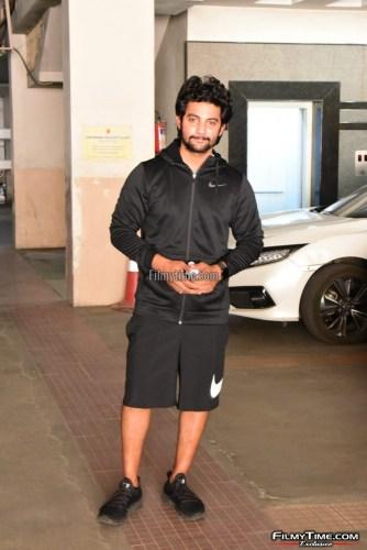 Hero-Aadi-Sai-Kumar-At-Gym-in-Hyderabad-12